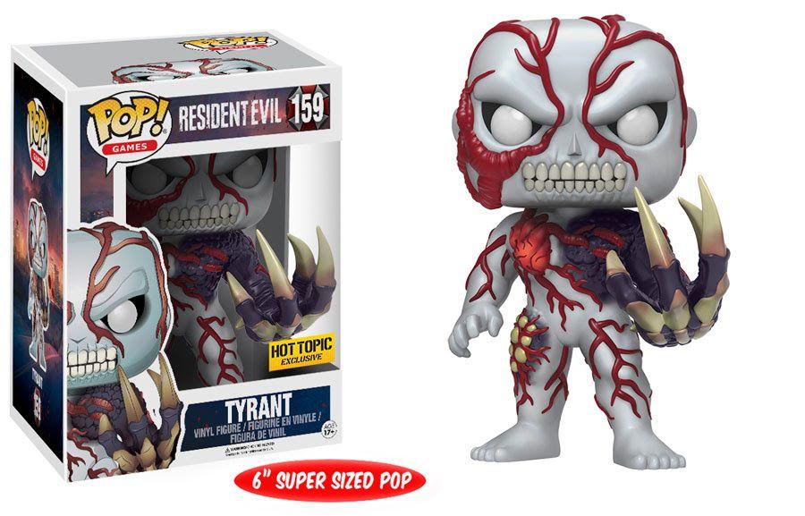 Tyrant Tyrant Resident Evil Figura De Vinilo Figuras Pop