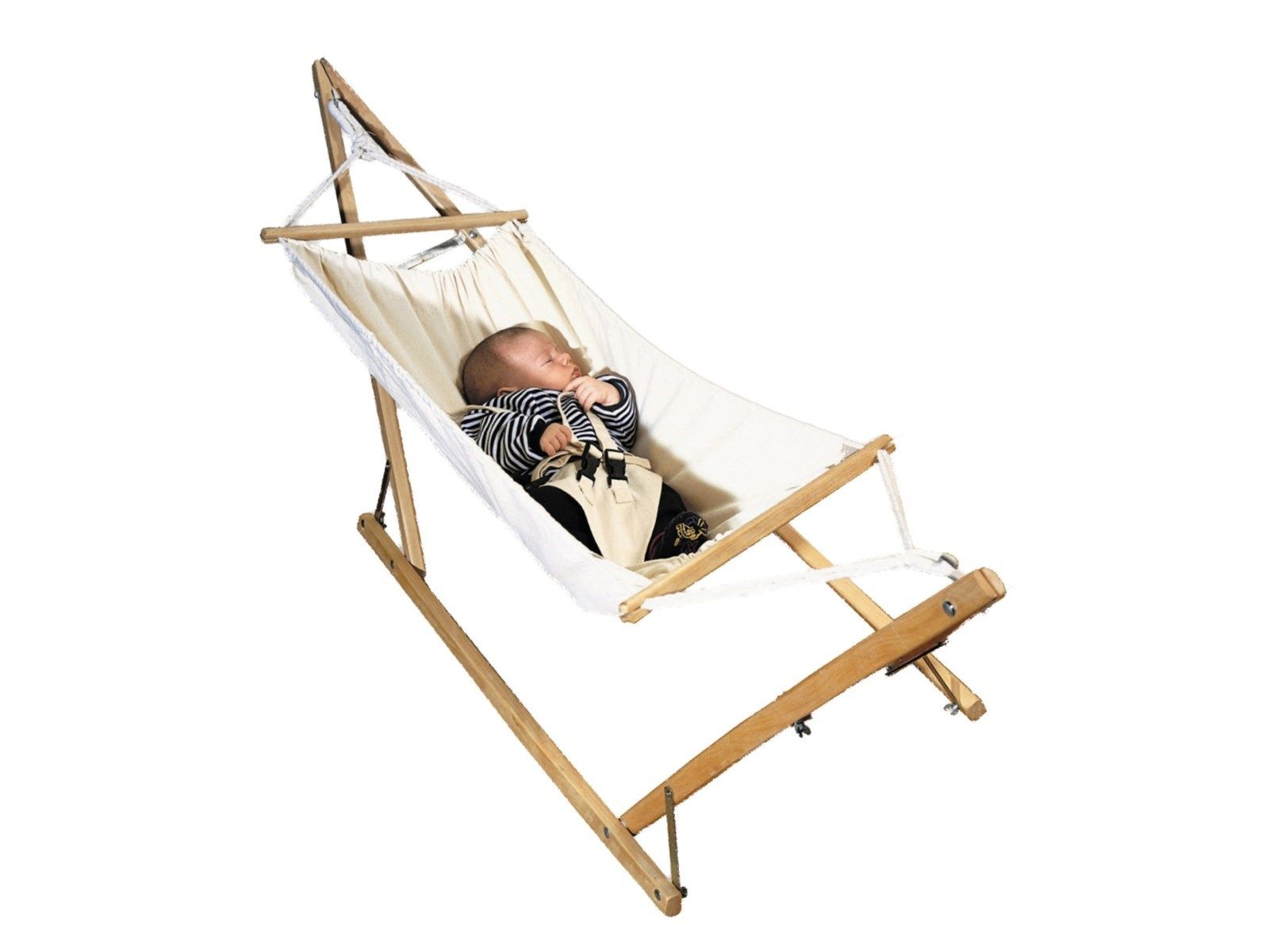 Babyhangematte Koala Mit Gestell Aus Eschenholz Von Amazonas 40 X 55 X 150 Cm Baby Hangematte Esche Holz Baby