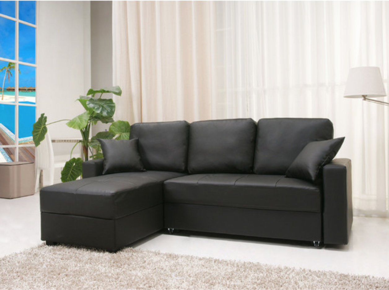 Modern Upholstered Sleeper Sofa Bed Sectional Storage   In Case Your Room  Is Too Little Even To Get A Little Sectional Or Yo