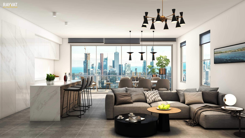 3d Visualizer Portfolio 3d Architectural Visualization Portfolio In 2021 Luxury Living Room Modern Houses Interior Home Design Decor