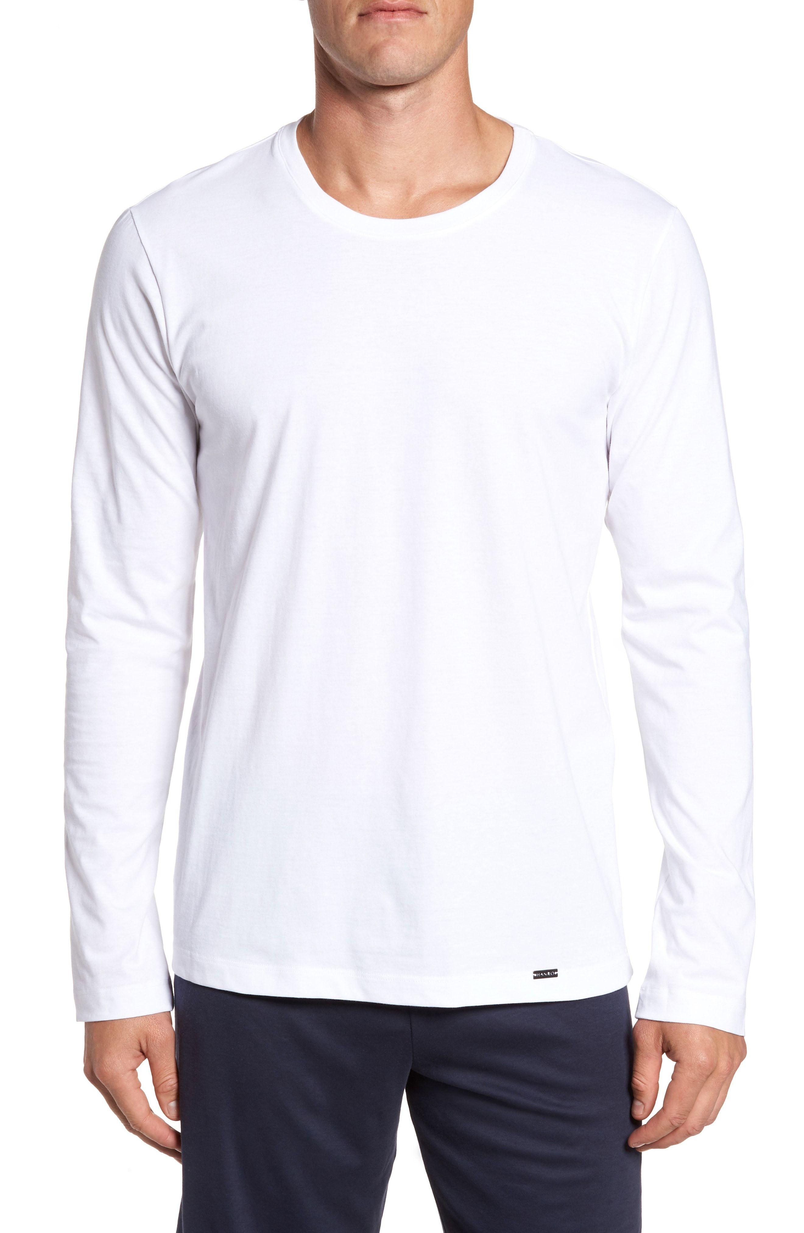 Hanro Mens Longsleeve T-Shirt