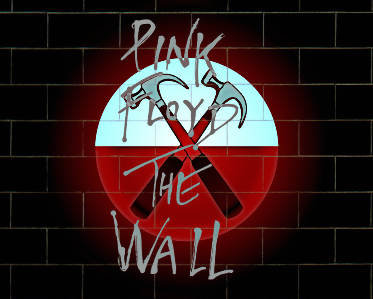 PINK FLOYD THE WALL. HAMMERS Pink floyd poster