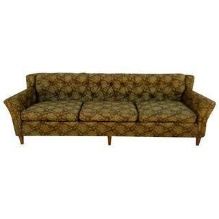Amazing A Mid Century Modern Sofa From The Tru Bilt Line Theyellowbook Wood Chair Design Ideas Theyellowbookinfo