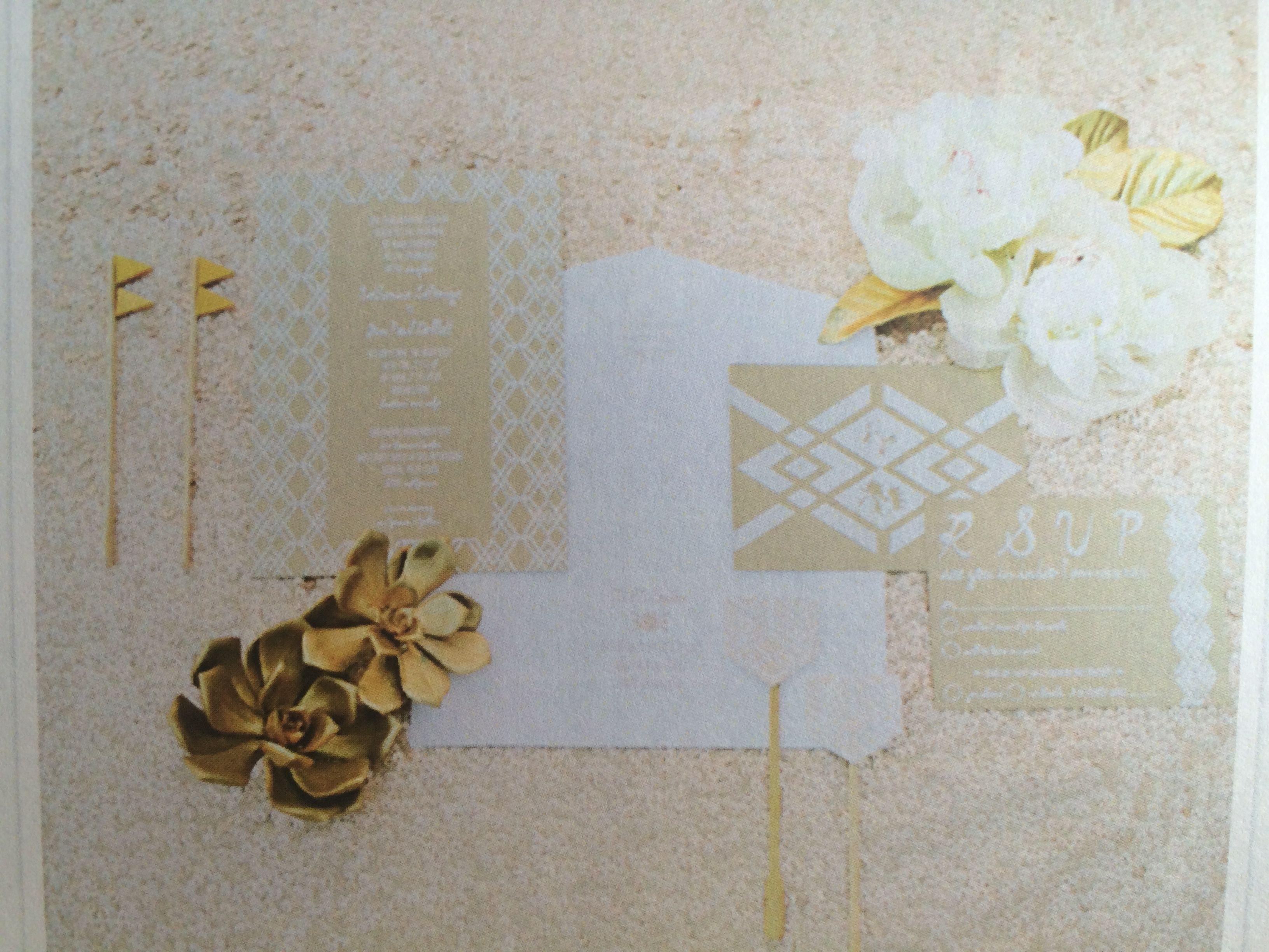 Styled stationary (invites, RSVP, info card, envelope)