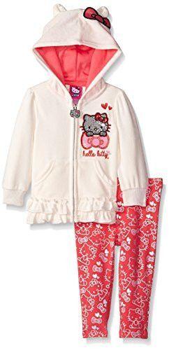 Hello Kitty Baby Girls' Legging Set Print, Off White, 24 Months