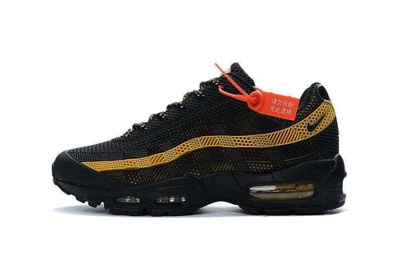 buy online 95183 e05d5 Free Shipping Only 69  Nike Air Max 95 ID Kup MENS SHOES black gold