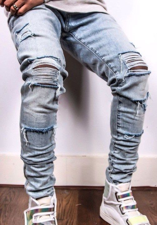 e70ce6181dd Why pay more for an expensive pair of ripped jeans when you can rip one  yourself  Follow these simple directions and make your own ripped jeans.