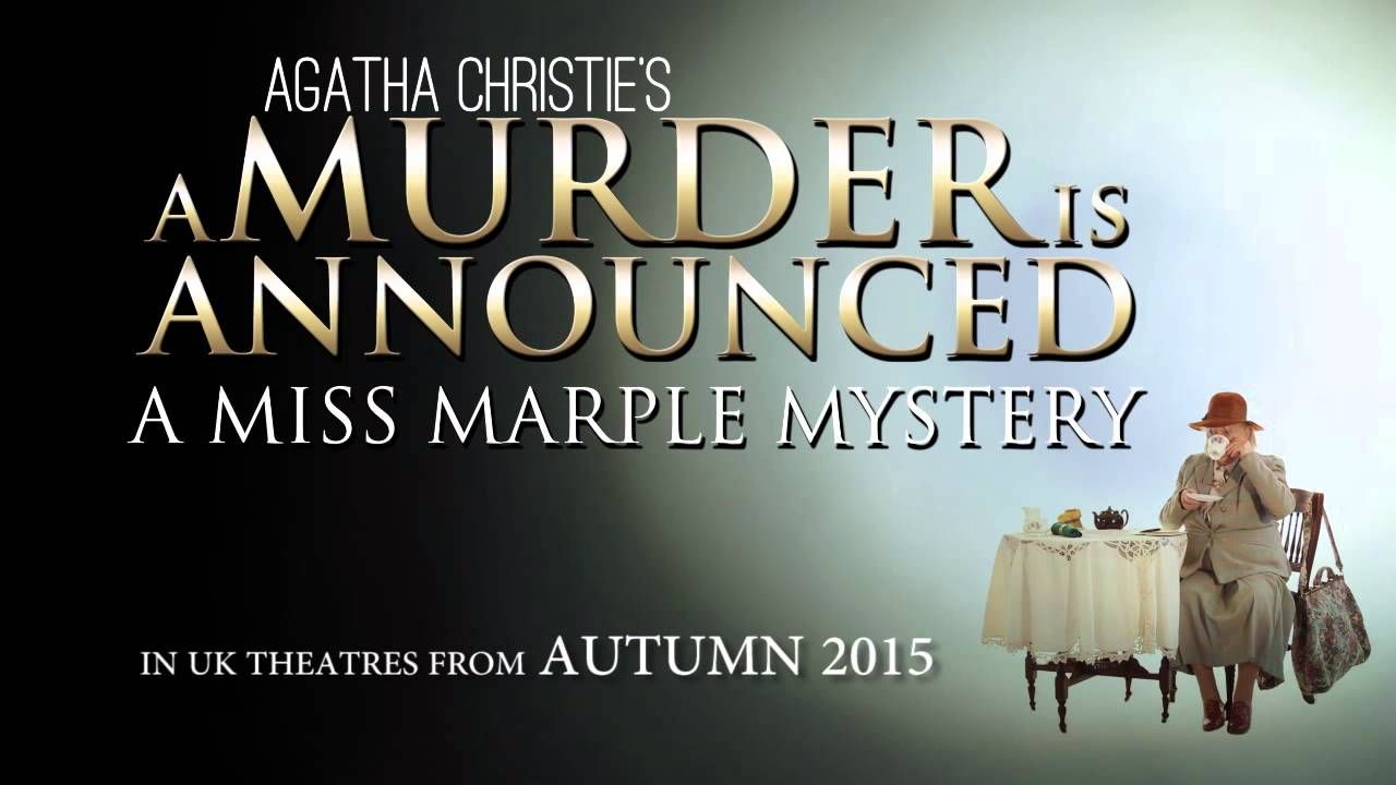 A Murder Is Announced, A Miss Marple Mystery | Blackpool Grand Theatre Showing Mon 28 Sept to Sat 3 Oct 2015 Book Tickets Here! http://www.blackpoolgrand.co.uk/shows/performance/murder-is-announced-a The residents of Chipping Cleghorn are astonished to read in the local newspaper that a murder will take place at the home of Letitia Blacklock. Unable to resist, the group gather at the house at the appointed time, when the lights go out and a gun is fired. Enter Miss Marple...