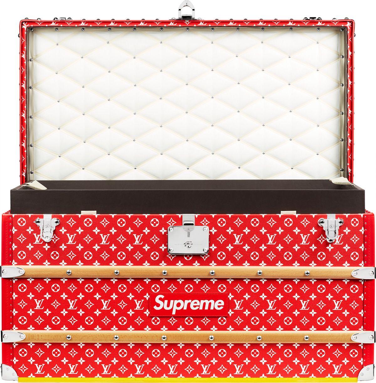 53e11a3870e7 Supreme Louis Vuitton Supreme Malle Courrier 90 Trunk