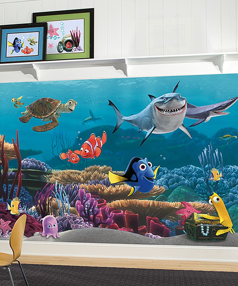 Loving This Pixar Finding Nemo Wallpaper Mural On Zulily Zulilyfinds