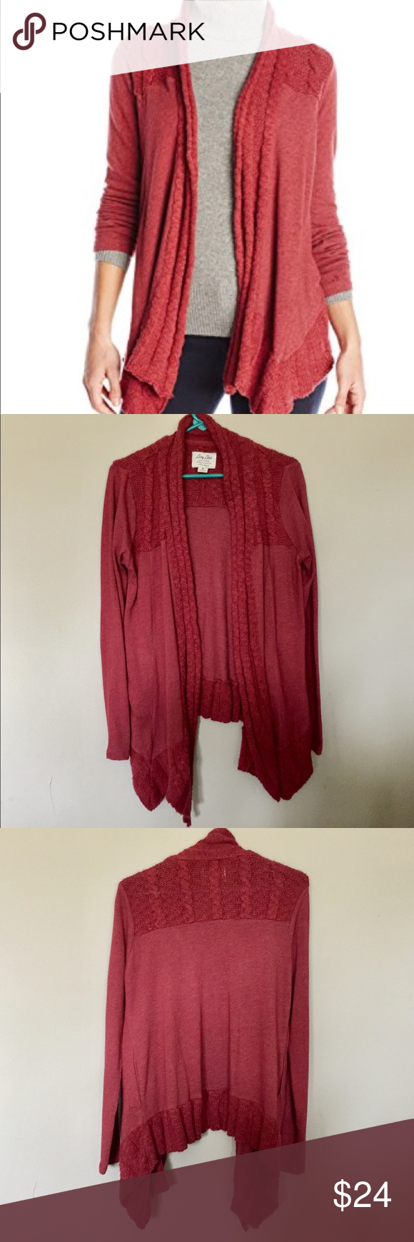 Lucky Brand Lucky Lotus Cardigan Comfy Lucky Brand waterfall ...