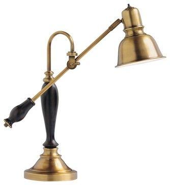 Traditional Kichler Bankers Balance Arm Desk Lamp Traditional Table Lamps Desk Lamp Lamp Bronze Desk Lamp