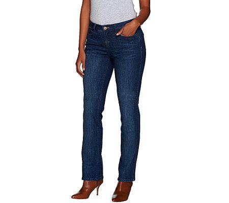 G.I.L.I. Regular Slim Leg Boot Cut Denim Jeans