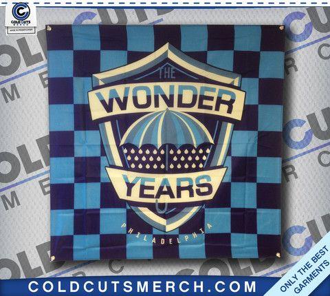 "The Wonder Years ""Umbrella"" Banner"