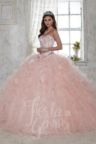 2a60b28ee 55 Ideas para fiesta de xv años color rosa | Quinceañeras | Vestidos ...