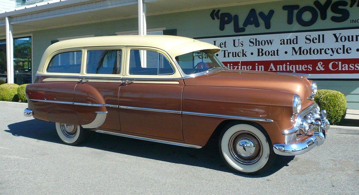 1953 Chevy Wagon Wizzbangfreakincoolness Station Wagon