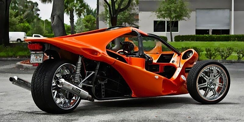 t rex motorcycle car rex 39 fast car drives on three wheels bikes trikes yikes concept. Black Bedroom Furniture Sets. Home Design Ideas