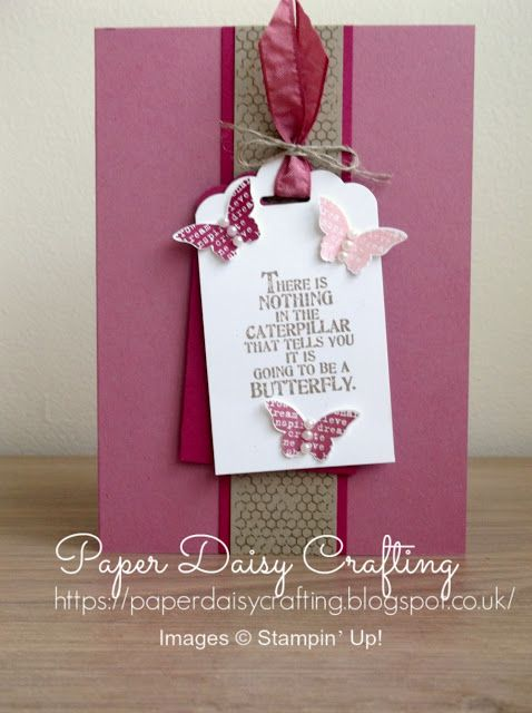 Paper Daisy Crafting: Pootler's Design Team - Butterfly Basics - Week 4