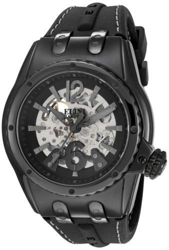 07396164e30 ... Elini Barokas Men s  Genesis Prime  Stainless Steel and Silicone  Automatic Watch.  155.00