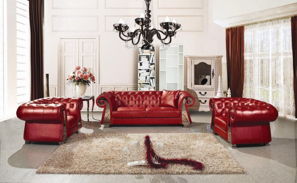 Find More Living Room Sofas Information About European Style Luxury Villa Living Room So Luxury Sofa Living Room Living Room Sofa Chesterfield Sofa Living Room
