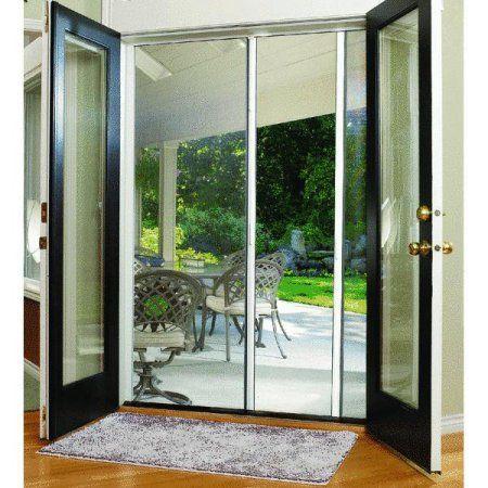 Larson Escape Retractable Screen Door Walmart Com Retractable Screen Door French Doors Exterior French Doors Interior