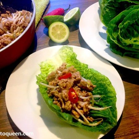 San Choy Bow | Recipe | Lettuce cups, Food recipes, Slow ...