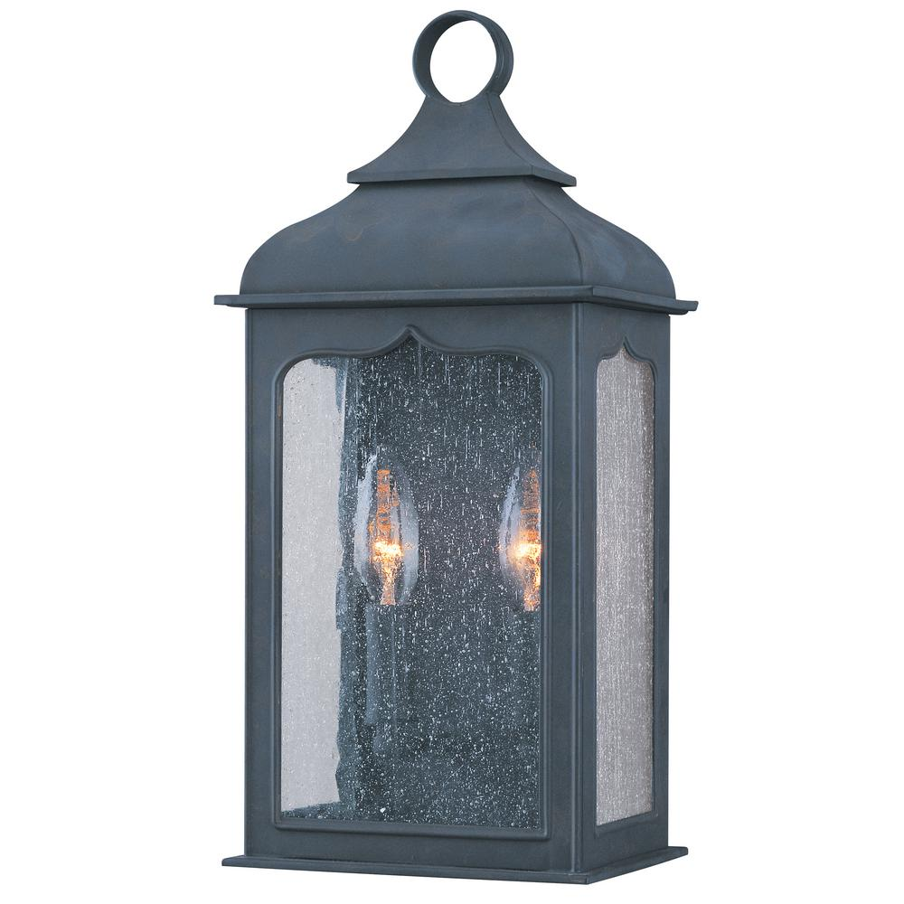 Troy Lighting Henry Street 2 Light Colonial Iron Outdoor