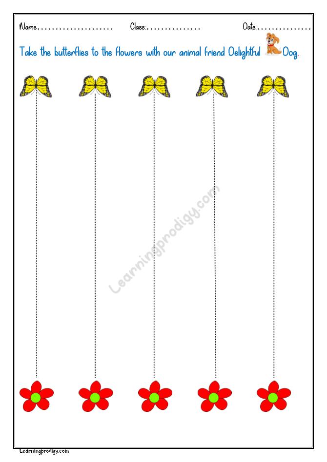 Standing Strokes | Tracing worksheets preschool, Preschool ...