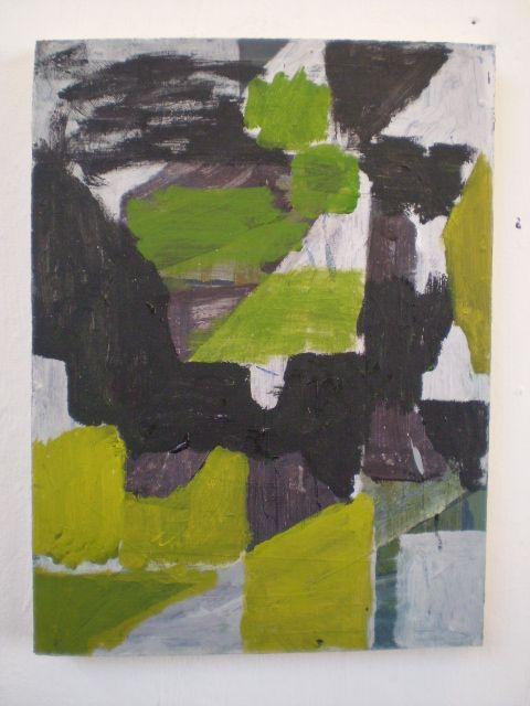 Julian Wakelin Castle Oil on canvas 2009