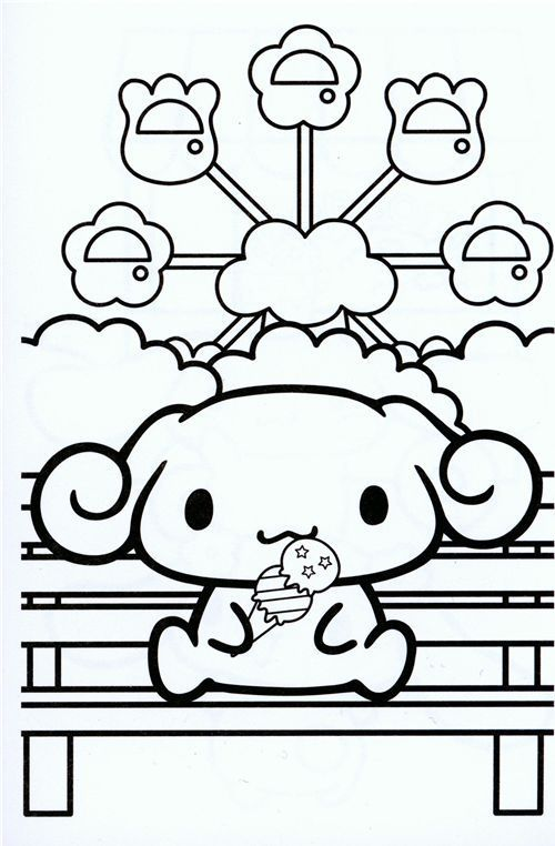 Download sanrio coloring pages - Google Search   Coloring books, Star coloring pages, Hello kitty coloring
