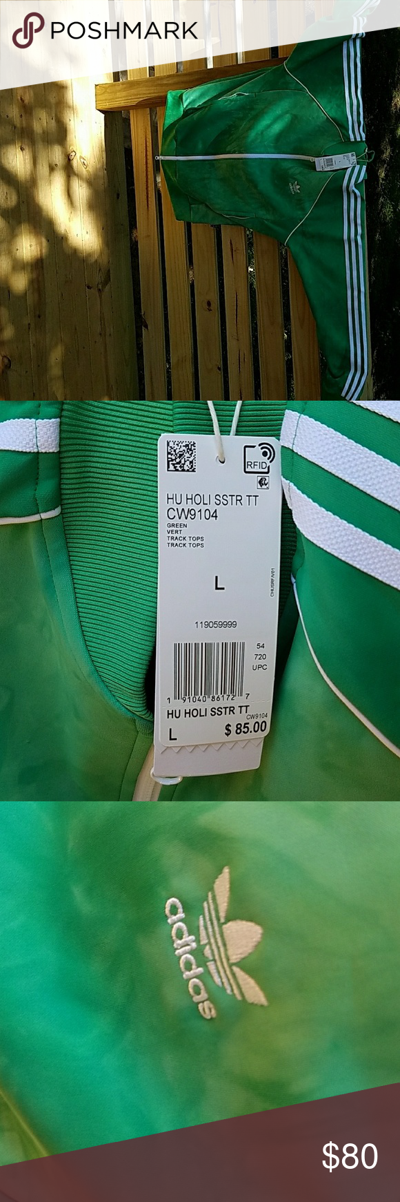4bba8a253a371 Adidas Pharrell Williams Hu Holi SSTR Track Jacket BNWT! Straight from  Nordstrom! 2018 collection