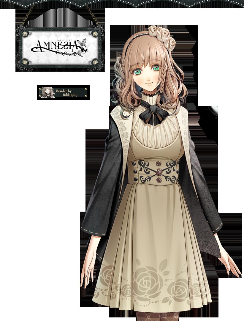 AMNESIA Heroine Render 2 by on