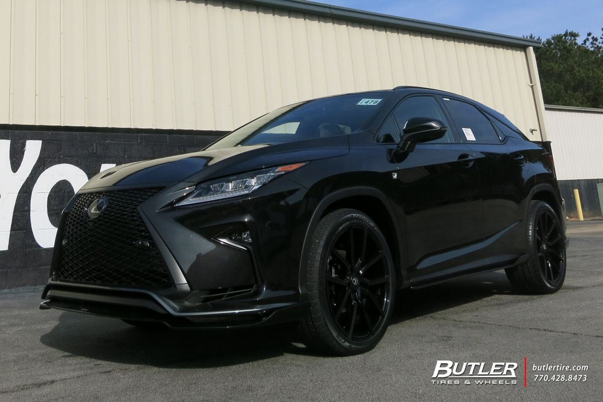 Lexus Rx With 22in Lexani Gravity Wheels Exclusively From Butler Tires And Wheels In Atlanta Ga Image Number 10821 In 2020 Lexus Suv Lexus Rx 350 Sport Lexus Rx 350