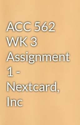 nextcard inc