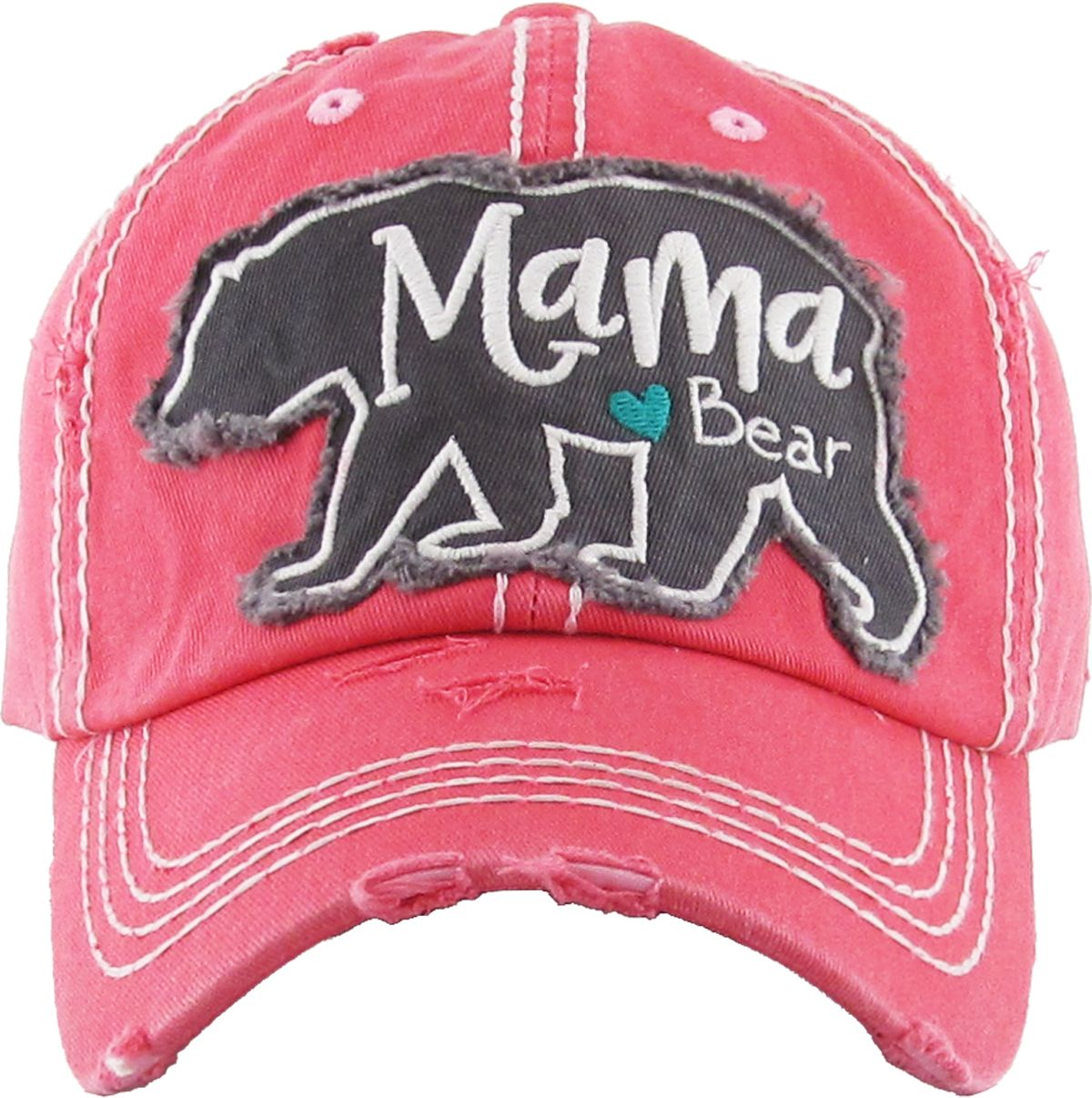 626a82efe Mama bear washed vintage ballcap in 2019 | www.hat2hat.com ...