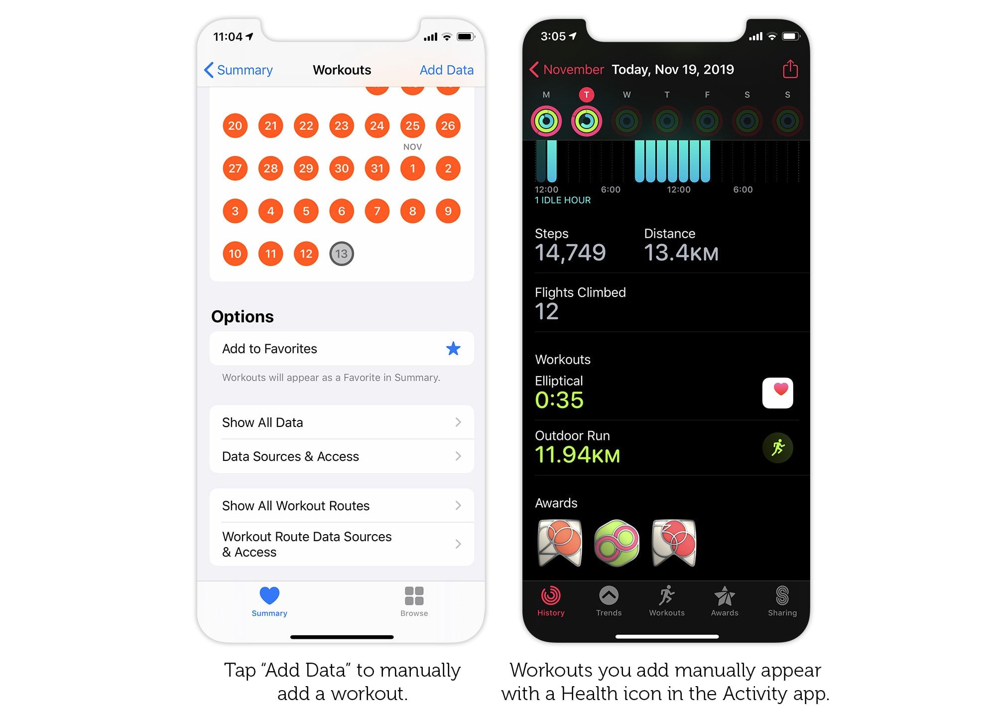 How to add delete and edit apple watch workouts apple