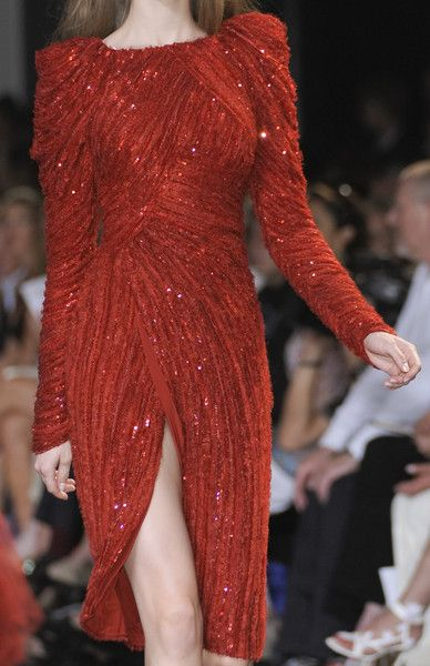 Elie Saab Couture Details, Fall 2010 #runwaydetails