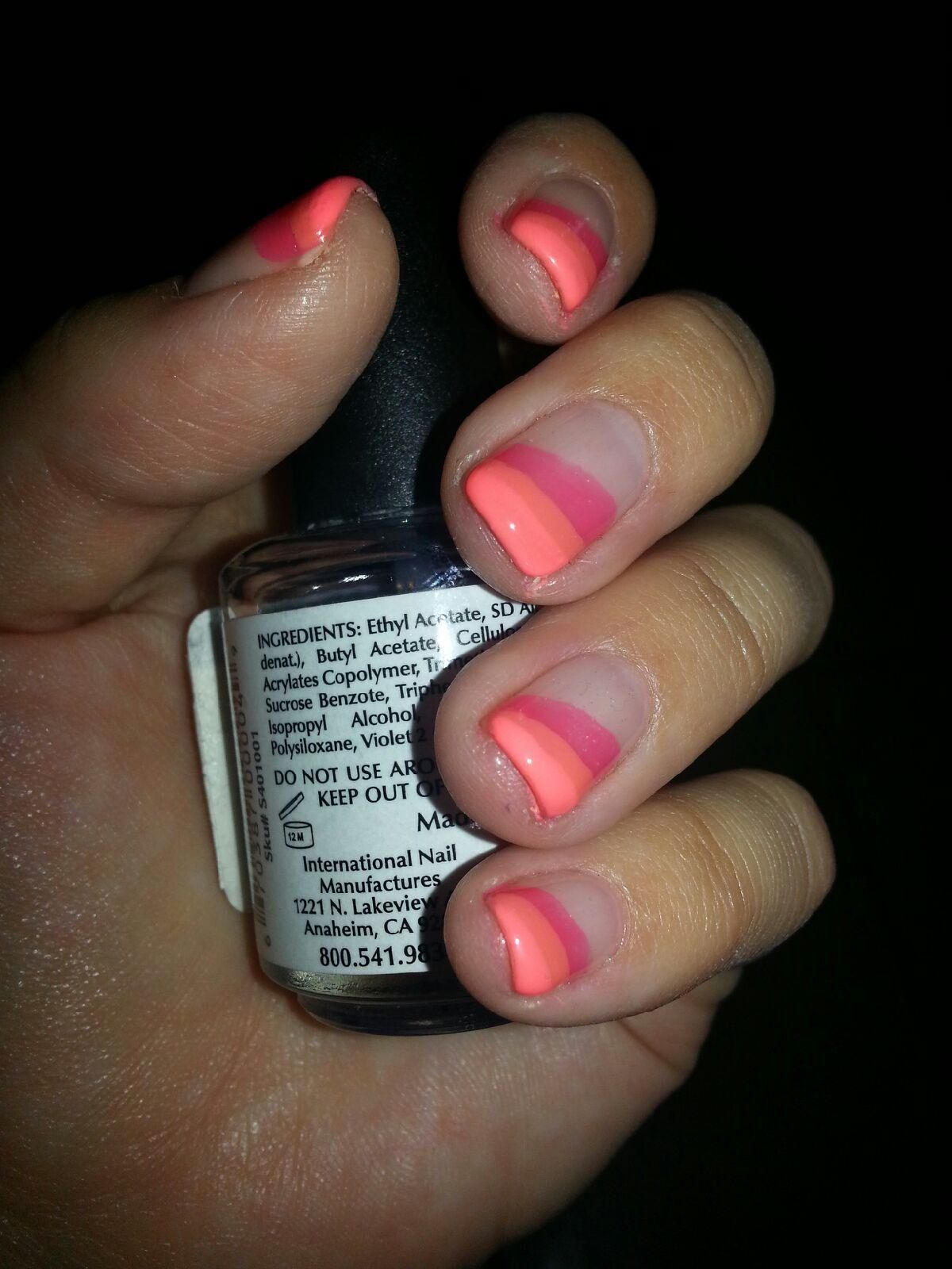 No chip manicure with gelish polish | My Nails | Pinterest ...