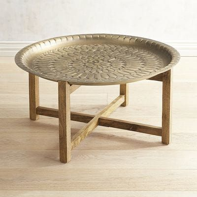 Moroccan Gold Tray Coffee Table Moroccan Furniture Coffee Table