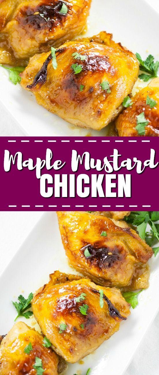 Maple Mustard Chicken images