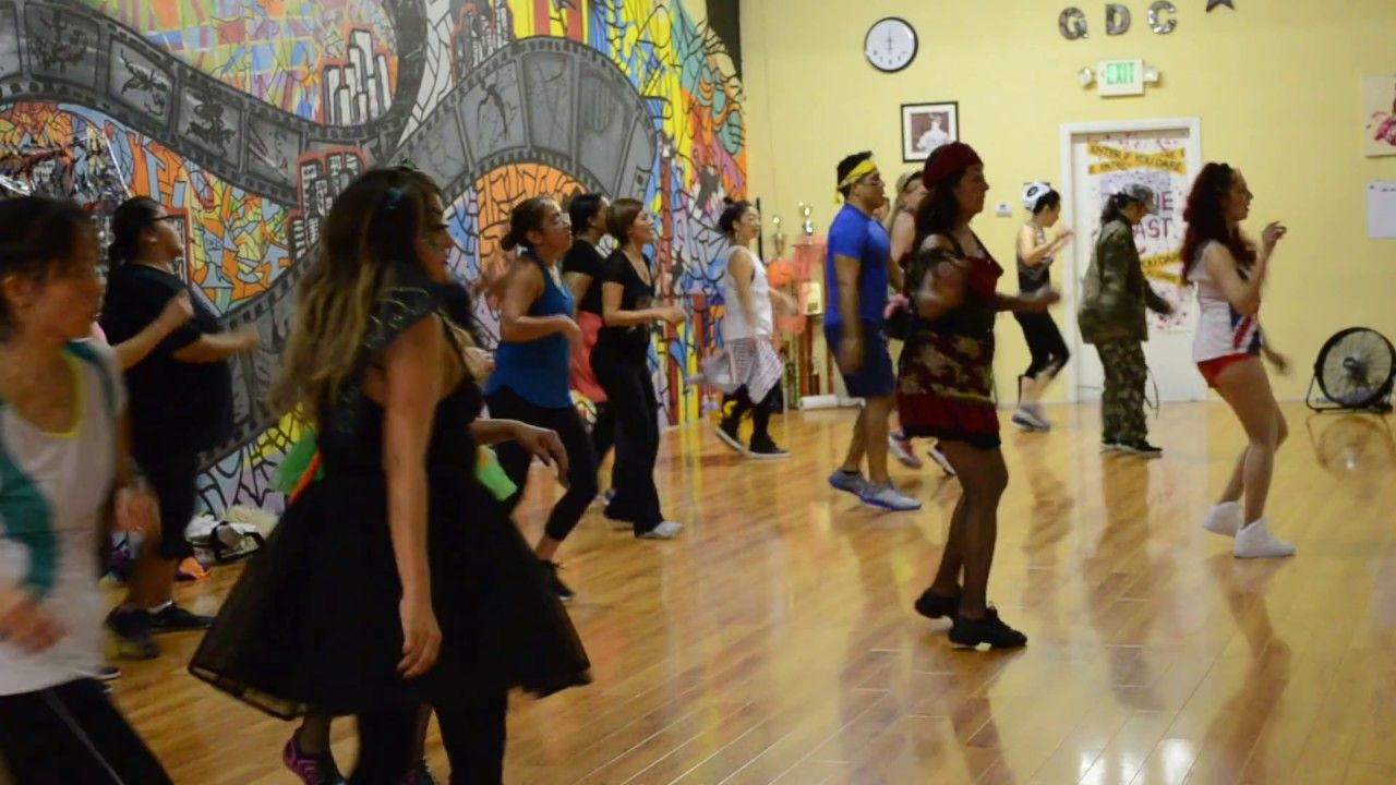 Time Of My Life Theme Zumba Cool Down Routine