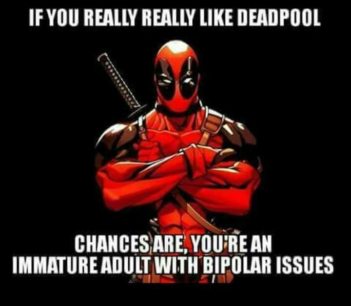 Pin By Bradly Bush On Just Deadpool Deadpool Funny Deadpool Funny Memes Deadpool Wallpaper Funny