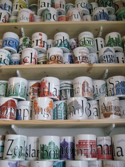 Starbucks Travel Mug Collection: Useful souvenirs to collect on your travels