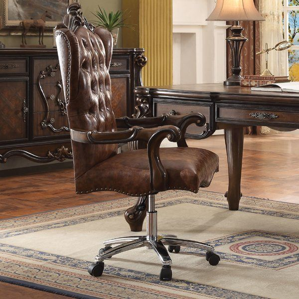 Brown Faux Leather Dining Room Chairs