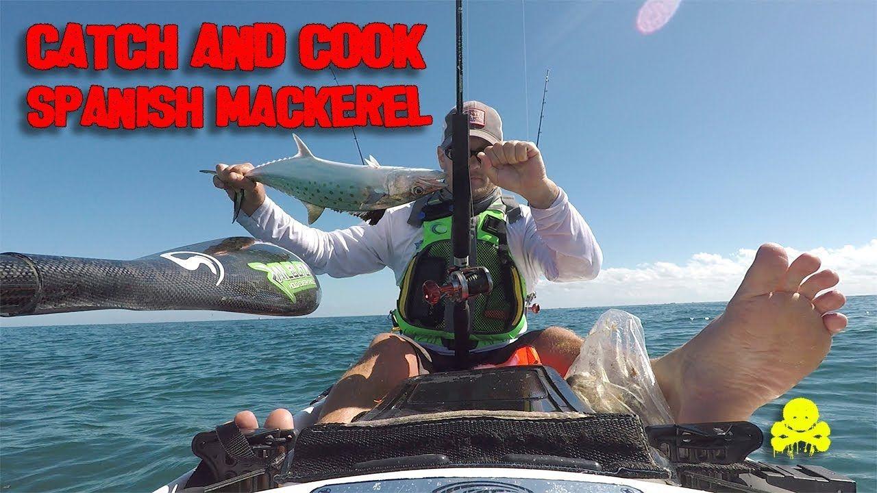 Catch And Cook Spanish Mackerel Plus Hush Puppies Youtube Hush Hush Hush Puppies