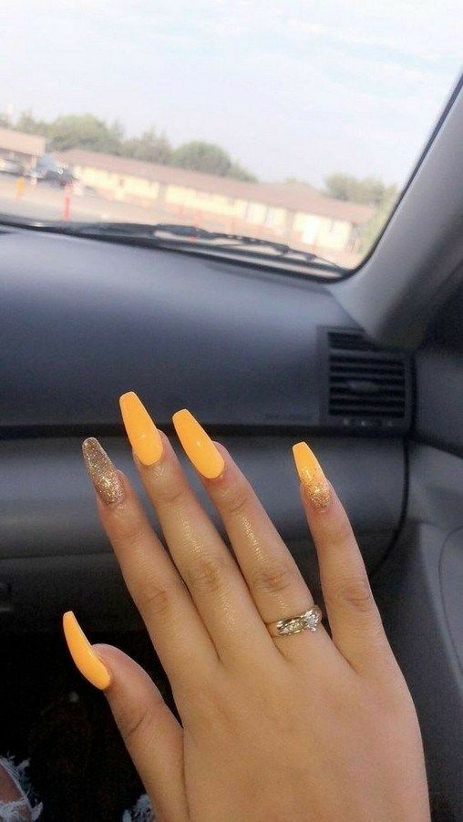9 Incomparable Fall Nail Ideas Coffin Attract All Other To Your Nail Now 40 Armaweb07 Com Nails Now Best Acrylic Nails Acrylic Nails