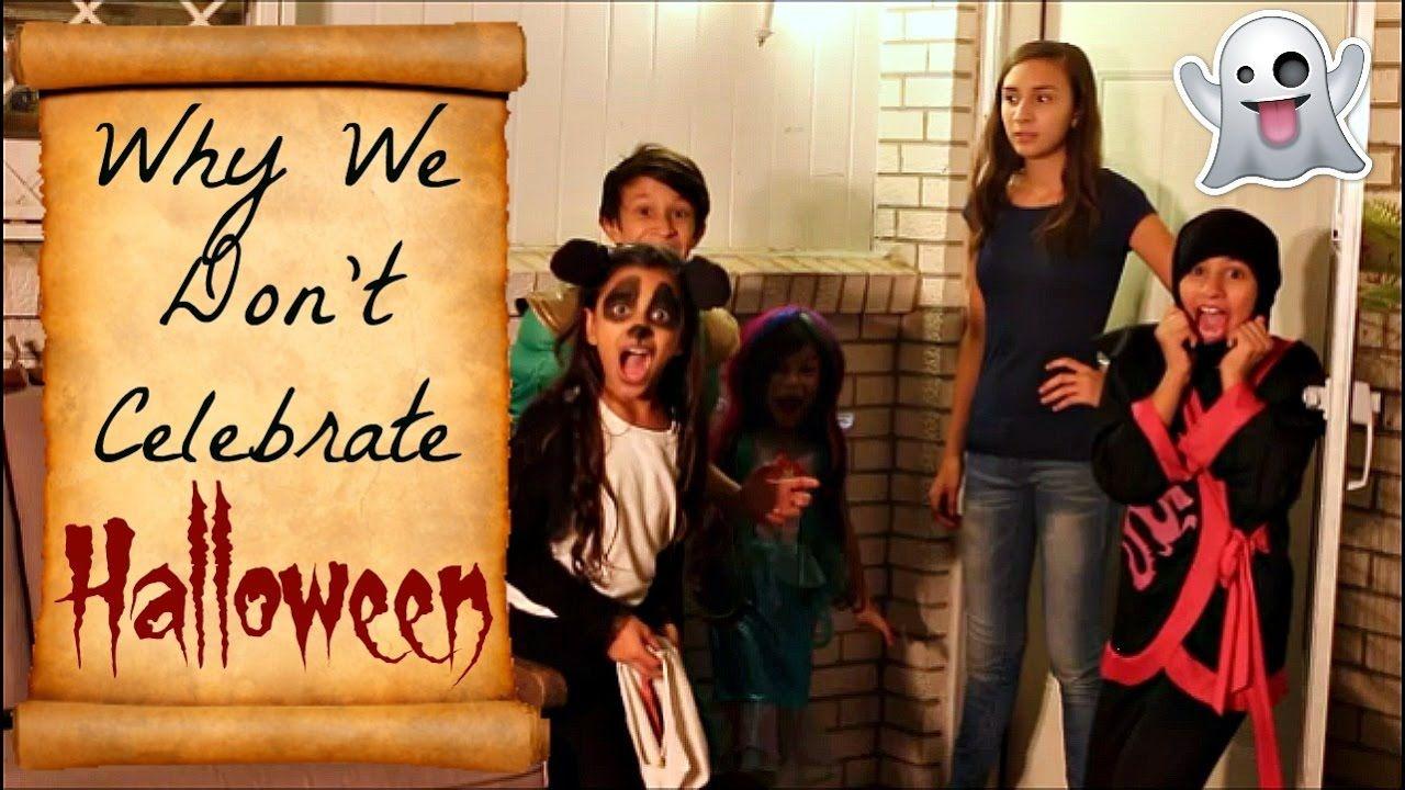 Why We Don't Celebrate Halloween Halloween kids
