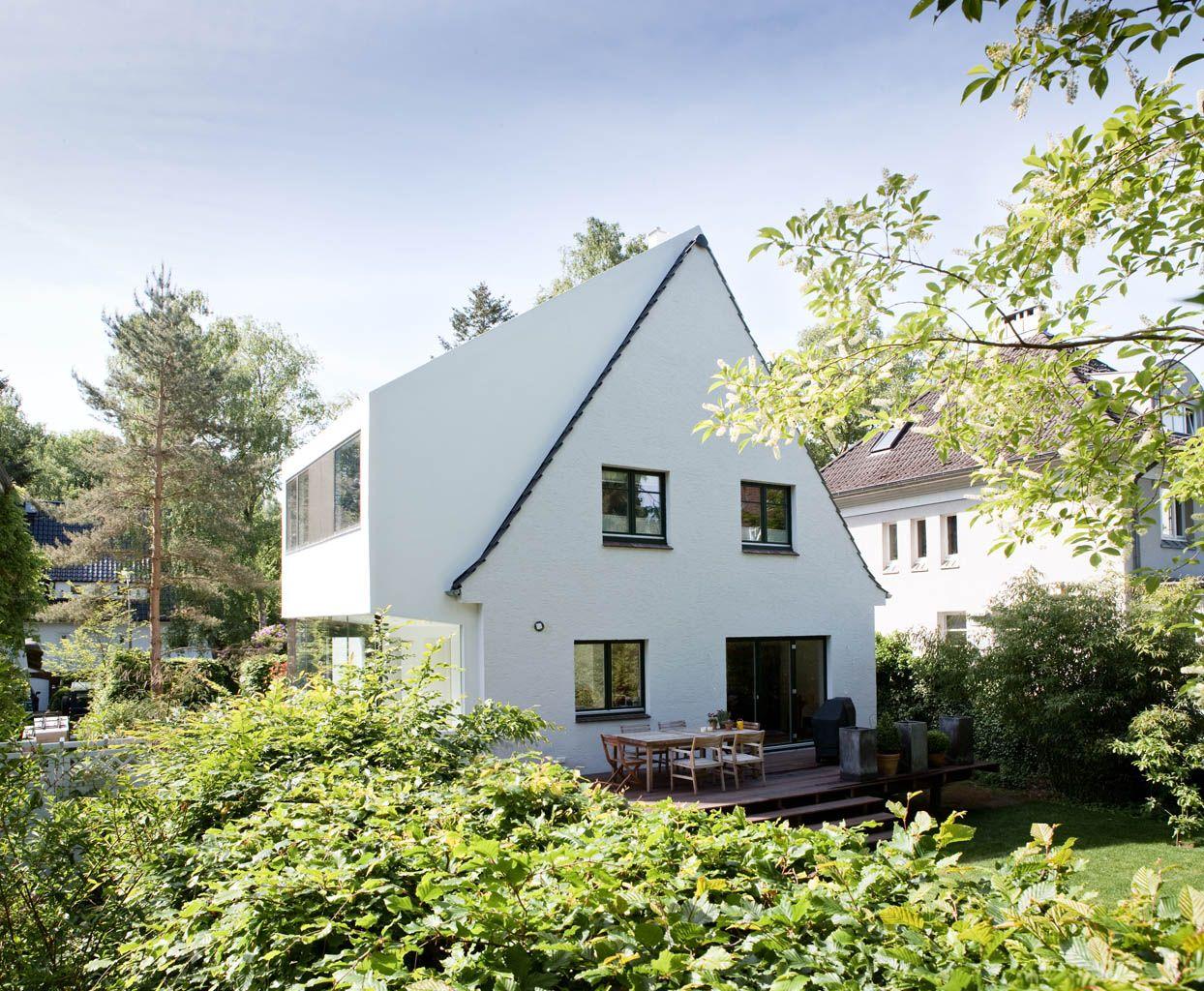 sanierung und anbau an ein einfamilienhaus in hh blankenese siedlungshaus pinterest haus. Black Bedroom Furniture Sets. Home Design Ideas