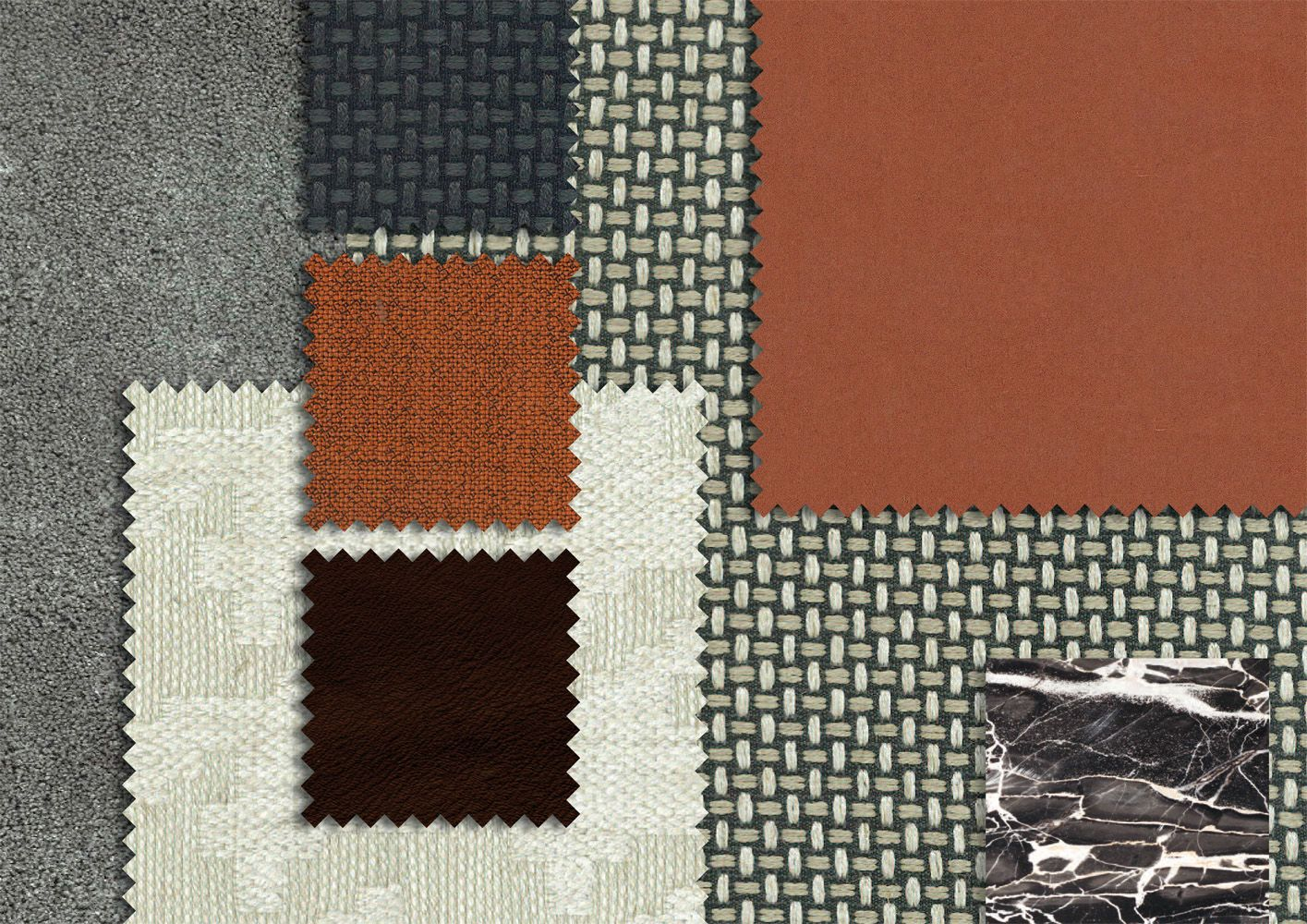Inspiration 03 Material Board Material Palette Textile Texture