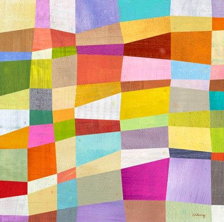 Melanie Mikecz - Abstract Blocks
